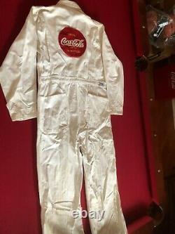 1950's, Coca-Cola, Coveralls Factory Uniform (RARE) Vintage