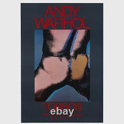 Andy Warhol Rare Vintage 1977 Original Torsos (Venice) Large Scale Poster