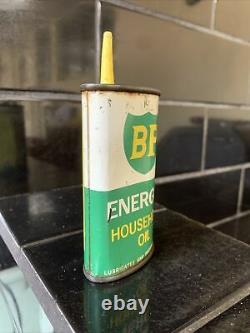 BP C. O. R Energil Handy Oiler Vintage Tin Can RARE