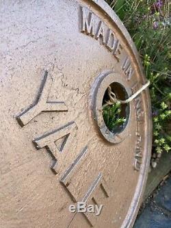 Barn Find Vintage Large Metal Yale Key Shop Display Locksmith Advertising Rare