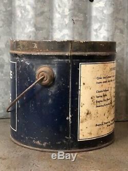 Dodge Brothers Motor Cars Cup Grease Can Oil Vintage Detroit RARE