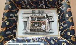 Dunhill Pipe / Cigar / Ashtray / Advertising / Vintage / RARE / Wedgwood