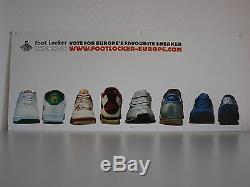 Footlocker Display Set 2001 Campaign Nike Adidas Reebok Puma Shoes Rare Vintage