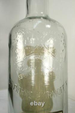 Large VTG SMIRNOFF Vodka Bottle. 1 Gallon 18 Oversized Empty Advertising RARE