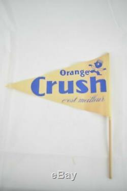 Lot Orange Crush Signs 1189 Pieces! Rare Vintage 1940s And Paper Accessories