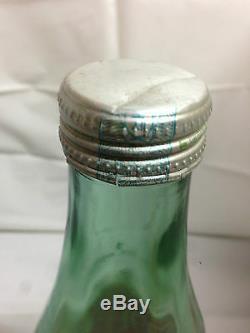 MEGA RARE! 1980'S Vintage Original Korea Coca Cola Bottle 1000ml Glass Coke