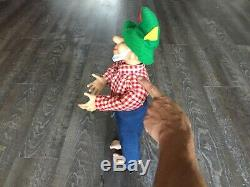 Mountain Dew Hillbilly Man Vintage Antique Doll Soda Pop Mascot RARE