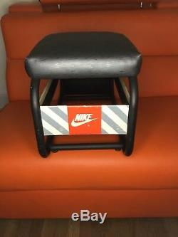 NIKE Fitting STOOL Vintage RARE Display 1980s or 90s Collectible Advertising