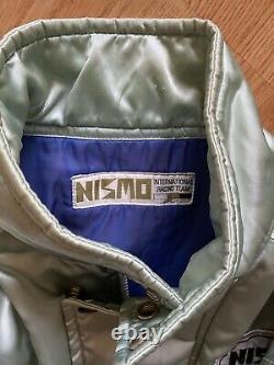 Nismo Old Logo Bomber Jacket Rare 90s Vintage Skyline R32 GTR R33 S13 S14 HKS