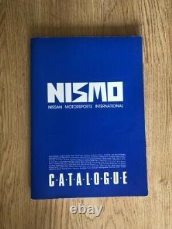 Nismo Old Logo Catalogue 1997 Rare Vintage 400R S13 S14 R32 R33 Skyline GTR RB26