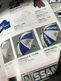 Nismo Old Logo Umbrella Rare Vintage Badge R32 R33 Apparel 90s HKS JDM JGTC Gr. A