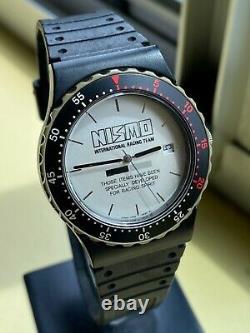Nismo Old Logo Watch Rare Jacket Vintage GTR Skyline Silvia R32 S13 400R R33 R34