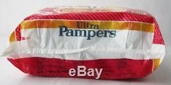 RARE VINTAGE 80'S ULTRA PAMPERS GIRL 8-18kg 18-40lbs MAXI PLASTIC NEW SEALED NOS