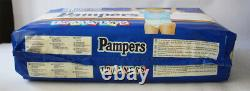 RARE VINTAGE 90'S PAMPERS TRAINERS 26X LARGE SIZE 15kg 33lbs NEW SEALED NOS