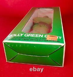 RARE! Vintage 1970's Jolly GREEN GIANT 9 Vinyl Figure Advertising Icon toy MIB