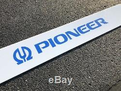 RARE Vintage Pioneer Dealer Sign Point of Sale Display Audio Video Electronics