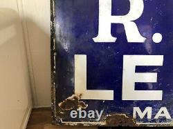 R Whites Lemonade Vintage Enamel Sign Rare