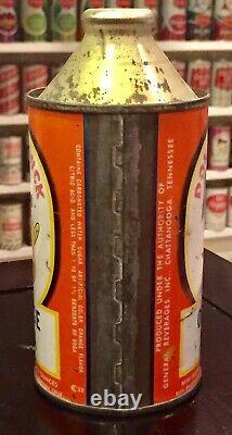 Rare Donald Duck Orange Cone Top Top Soda Can-Vintage 1952