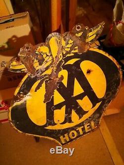 Rare Original vintage metal advertising signs
