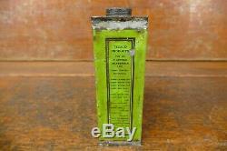 Rare Vintage 1920s Original Texas Co Texaco One Pint Oil Can Port Arthur Texas