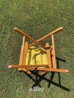 Rare Vintage 1980s Nike Directors Chair Store Display