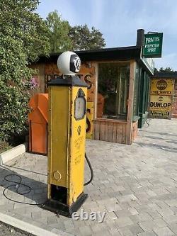 Rare Vintage AA Automobile Association Petrol Pump Old Garage Forecourt Gas Oil