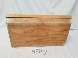 Rare Vintage Camillus Knife Display Case, Collectable Display Case withAdvertising