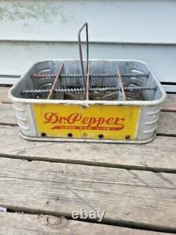 Rare Vintage Dr Pepper 12-pack Carrier