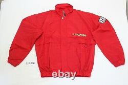 Rare Vintage Honda F1 Racing Team Windbreaker Jacket, Large