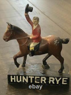 Rare Vintage Hunter Baltimore Rye Statue