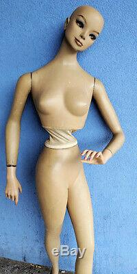 Rare Vintage Mannequin Morgese Soriano (Toronto) #6471 Upper Body Movable