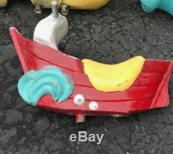 Rare Vintage McDONALD's FILET O LAKE Playground PLAYLAND RIDE Toy ORIGINAL SHIP