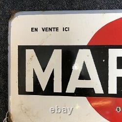 Rare Vintage Original Enamel Martini Sign man cave