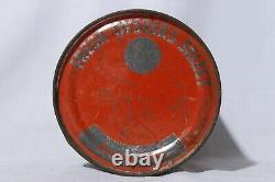 Rare Vtg Moonlight Bay Brand Fresh Raw Oysters Weems, VA 1 Pint Tin Can
