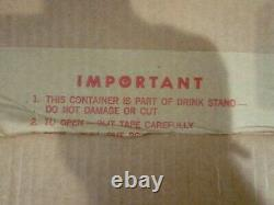 Rare Vtg Pillsbury Funny Face Drink Stand 1960's Complete 1st Version Instructs