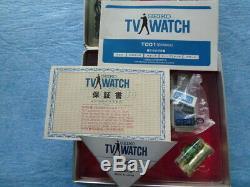Seiko TV watch T001 DXA002 1983 Vintage DHL Japan TR02-01 rare collectible
