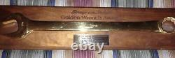 Snap On Tools Collectable VINTAGE 24K GOLD PLATED TOP DEALER AWARD 1985 RARE$$$$