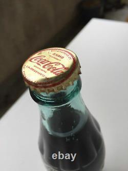 UNOPENED Vintage very rare COCA COLA retro bottle old Bulgaria Cyrillic