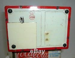 VINTAGE 1950'S LINEMAR COCA-COLA DISPENSER BANK WithRARE ORIGINAL BOX