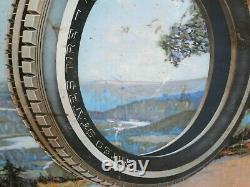 VINTAGE CIRCA 1920'S U. S Royal Tires Gas Sign29 X 19 RARE