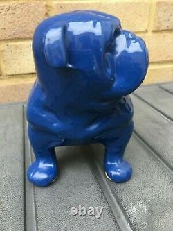 VINTAGE Record Tools Advertising/Promotional Cast Iron Bulldog RARE SHOP DISPLAY