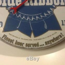 VINTAGE, ULTRA RARE 1950's Pabst Blue Ribbon PAM Advertising Thermometer