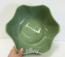 Vernon Kilns Coca Cola pottery bowl 1950s vtg advertising RARE Collector
