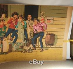 Vintage 1950 Levi's Poster For Store Paper Banner Very Rare