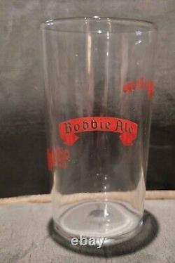 Vintage Advertising Beer Glass White Cap Beer Two Rivers Wisconsin 1930s rare