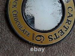 Vintage Advertising Rare Fry's chocolate 1920s advertising mirror