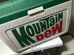 Vintage Coleman Mountain Dew Limited Edition Cooler Large Retro Rare Nice 90s