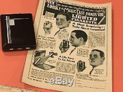Vintage Magic Case Art Deco Cigarette Lighter Holder 1920's 1930's GM Accessory