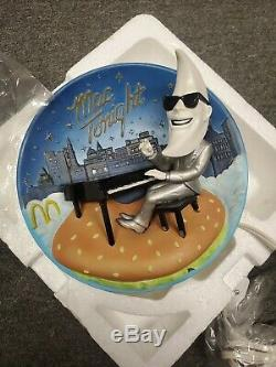 Vintage Mcdonalds Make It Mac Tonight Moonman Lamp Rare Americana History NEW