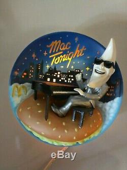 Vintage Mcdonalds Make It Mac Tonight Moonman Lamp Rare Unique Americana History